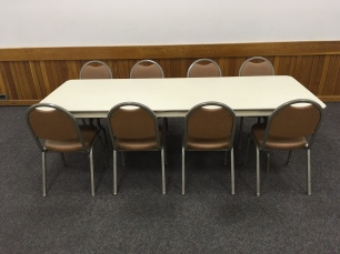 Rectangular Tables (7.5' x 3')