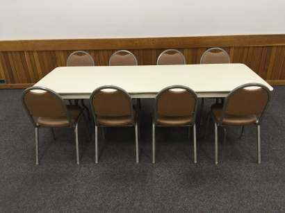 Rectangular Tables (7.5' x 3')