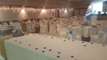 Banquet Hall Wedding (before new paint job)