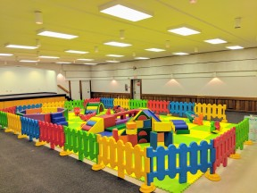 Toddler Playground by Sprog & Sprocket - Banquet Hall (before new paint job)
